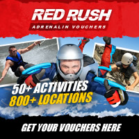Buy your adrenalin packed redrush voucher