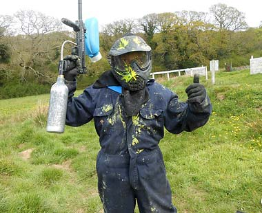 truro paintballing equipment